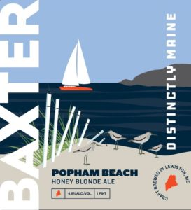 Popham Beach Blonde Ale Label